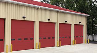 ribbed steel doors34-Security Grilles-Shutter-commercial garage doors-Albert's Custom Doors-Wichita, KS