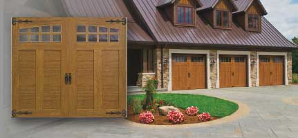 Clopay Doors5-garage doors wichita-residential garage doors-overhead doors-Alberts Custom Door Company-Wichita, KS