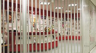 Commercial Rolling3-Security Grilles-Shutter-commercial garage doors-Albert's Custom Doors-Wichita, KS
