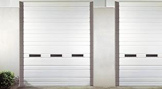 Ribbed Steel Door-Security Grilles-Shutter-commercial garage doors-Albert's Custom Doors-Wichita, KS