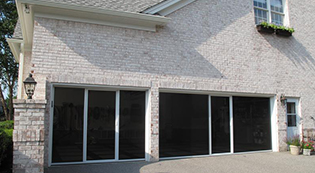 Lifestylescreens2-Lifestyle Screens-Garage Door Screens-Residential Garage Doors-Alberts Custom Door-Wichita, KS
